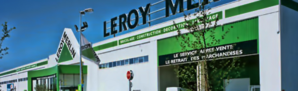 Construction neuve d'un magasin LEROY MERLIN